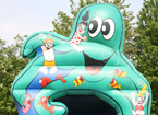 Octopus Bouncy Castle
